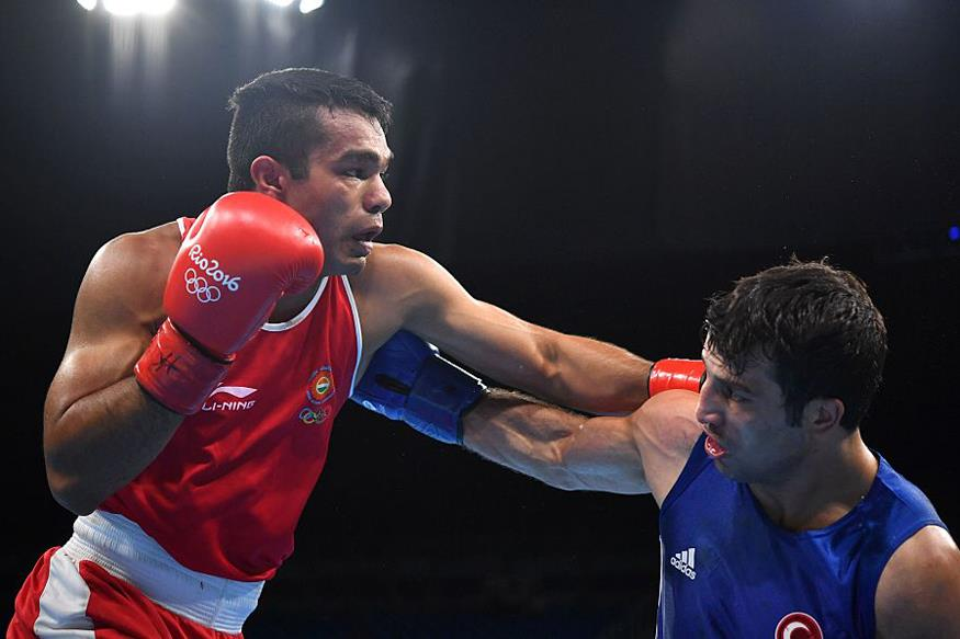 boxer krishana at rio 2016