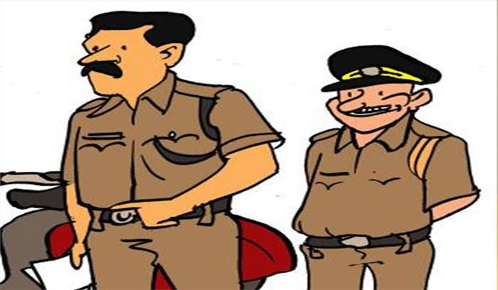लडकियों को धमकाने वाला टीआई लाइन हाजिर