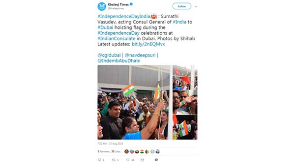 Indias independence Day Celebrations Light Up Social Media