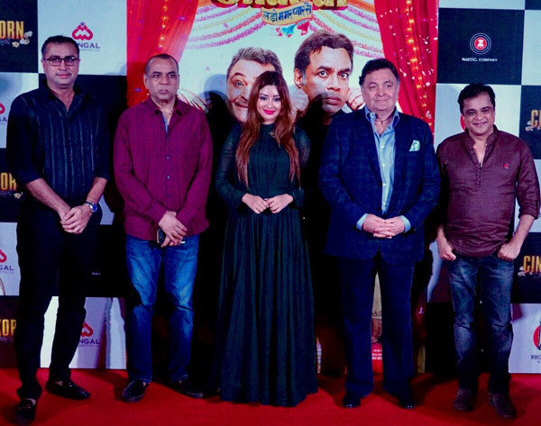 Kalapi Nagada, Paresh Rawal, Payal Ghosh, Rishi Kapoor and Sanjay Chhel