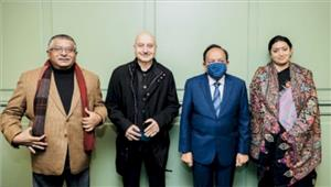 अनुपम खेर को मिला कला रत्न पुरस्कार