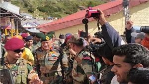 कश्मीर घाटी में हालात सुधर रहेबिपिन रावत