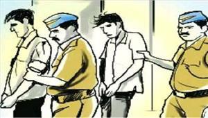गुवाहाटी पांच डकैत गिरफ्तार