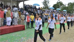 हिप्र ओलम्पिक खेल पहले ही दिनदेखने को मिलाहमीरपुर का दबदबा