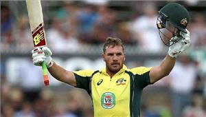 इंदौर वनडे  एरॉन फिंचने ऑस्ट्रेलियाई पारी को दी मजबूती