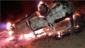 जमीनविवाद में पांच की हत्या