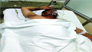 मीट व्यापारी को गोली मारी अस्पताल में भर्ती