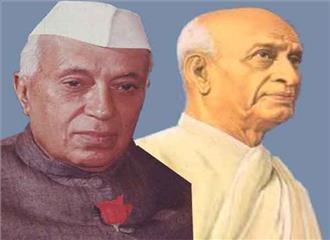 पटेल को बड़ा दिखाने नेहरू का कद घटाने का प्रयास