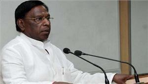 मुख्यमंत्री वी नारायणसामी ने एमजीआर को श्रद्धांजलि दी