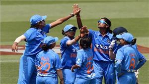 महिला क्रिकेट  भारत ने थाईलैंड को 9 विकेट से मात दी