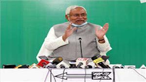 मुख्यमंत्रीनीतीश कुमार नेपद से इस्तीफा दिया