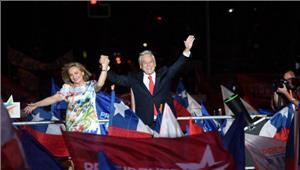 चिली के राष्ट्रपति चुनाव में पूर्व राष्ट्रपति सेबेस्तियन पिनेरा विजयी