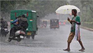 देश के कुछ राज्यों में भारी बारिश की चेतावनी