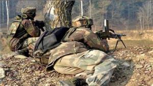 राजौरीपाकिस्तान सेना कीगोलीबारी में 1जवान घायल