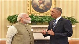 ओबामा और मोदी ने फोन परअमेरिका-भारत संबंधों की समीक्षा की