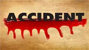 उप्र  सड़क दुर्घटना में युवक की मृत्यु