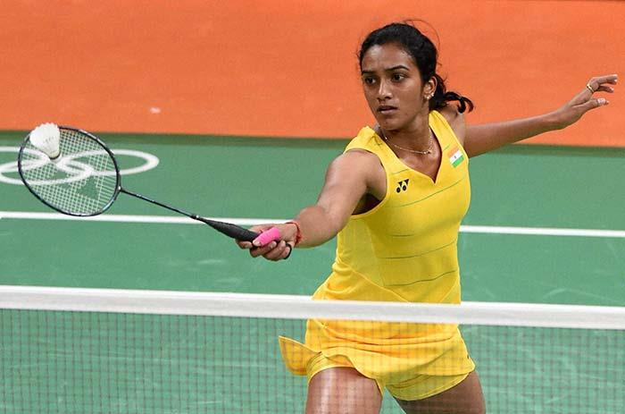 pv sindhu at action in rio 2016