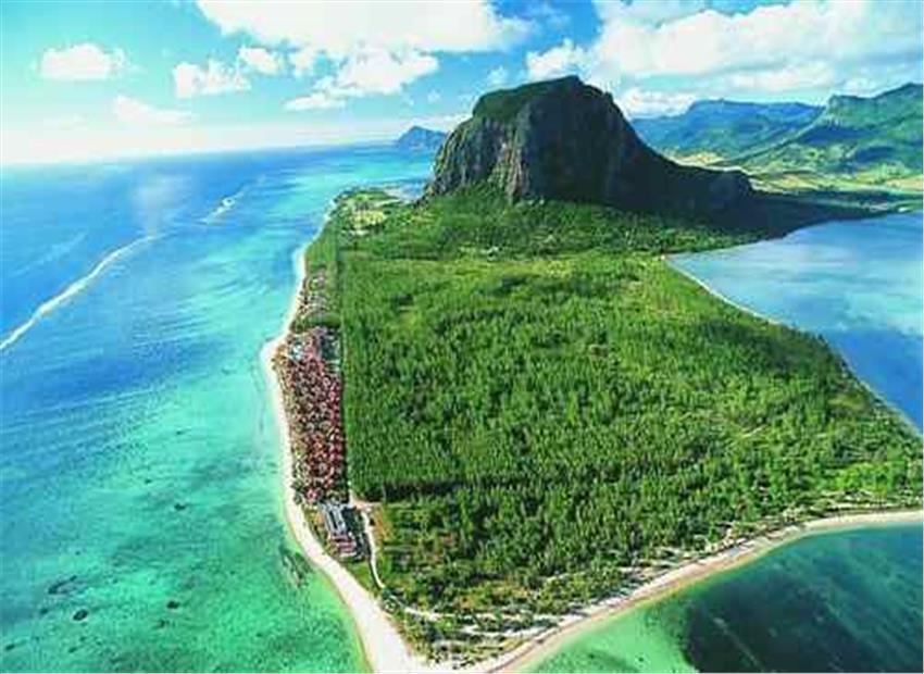 हिंद महासागर में एक महाद्वीप जलमग्न