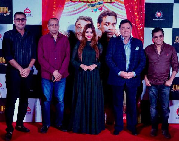 Kalapi Nagada, Paresh Rawal, Payal Ghosh, Rishi Kapoor and Sanjay Chhel