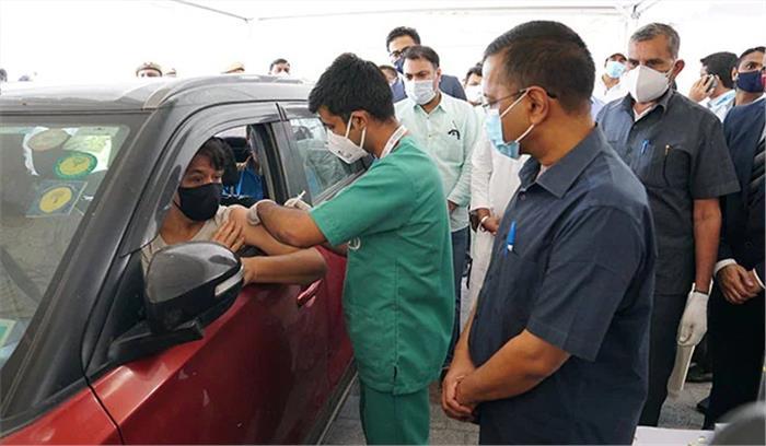 केजरीवाल ने अग्निकांड में क्षतिग्रस्त झुग्गियों के लिए मुआवजे की घोषणा की