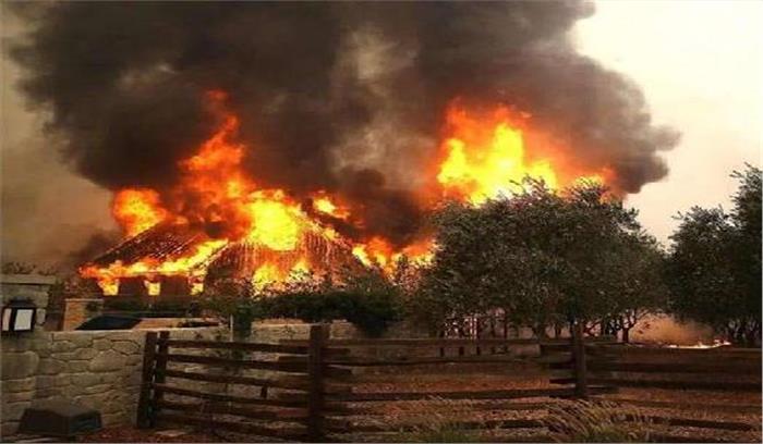 Image result for कैलिफोर्निया के जंगलों में आग में मृतकों की संख्या 15 हुई