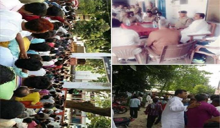 गाय के बछड़े का गला काटते रंगे हाथ पकड़े गए दीक्षित बंधु, दंगा होते-होते बचा
