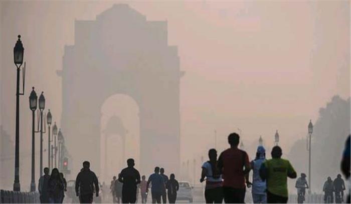 दिल्ली : सुबह के वक्त होता है सबसे उच्च प्रदूषण स्तर