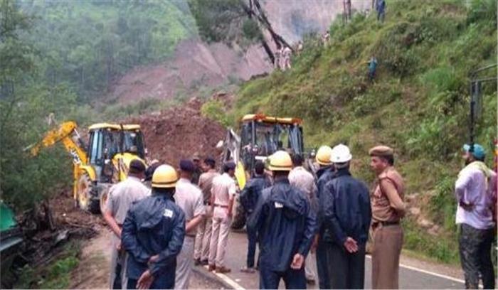 हिमाचल:मंडी जिले में भूस्खलन, 7 की मौत