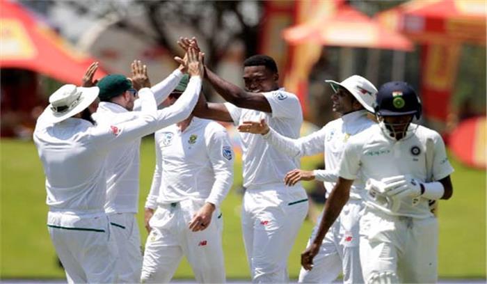 दक्षिण अफ्रीकी जमीन पर भारतीय टीम ने फिर टेके घुटने