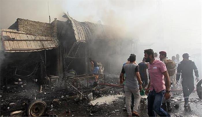 इराक:  कैफे में हुए आत्मघाती हमले में 10 मौत