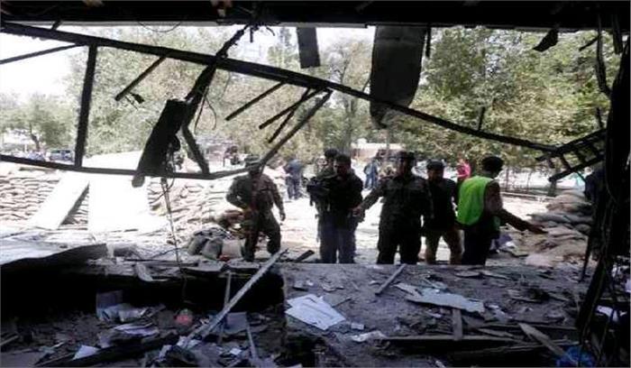 काबुल अंतर्राष्ट्रीय स्टेडियम केविस्फोट में2 की मौत