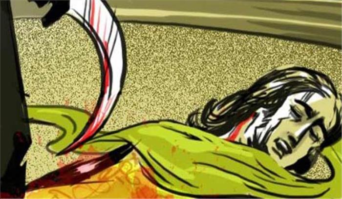 मानसिक रूप से बीमार युवती की गला रेंतकर हत्या