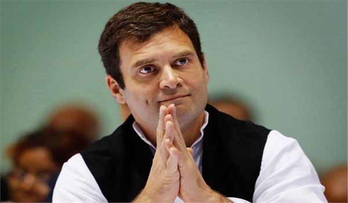 राहुल गांधी कांग्रेस अध्यक्ष चुने गए