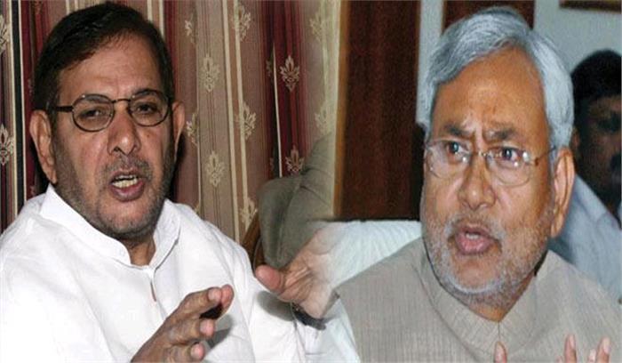 शरद ने जदयू अध्यक्ष पद से नीतीश को हटाया, वसावा बने कार्यकारी अध्यक्ष