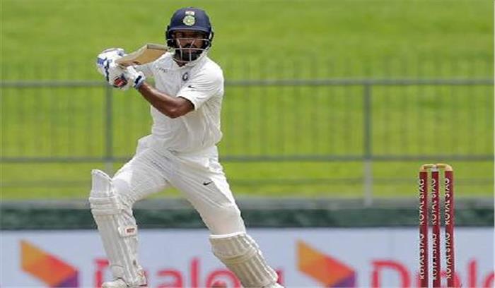 कैंडी टेस्ट :धवन का शतक से भारत ने बनाएं 6/329 रन