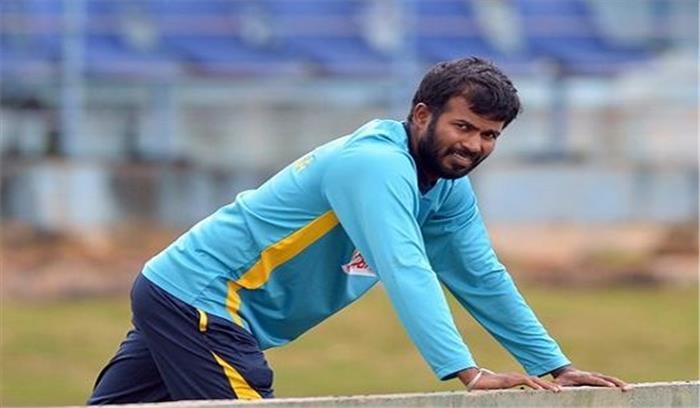 एकदिवसीय श्रृंखला के लिए श्रीलंका टीम की घोषणा