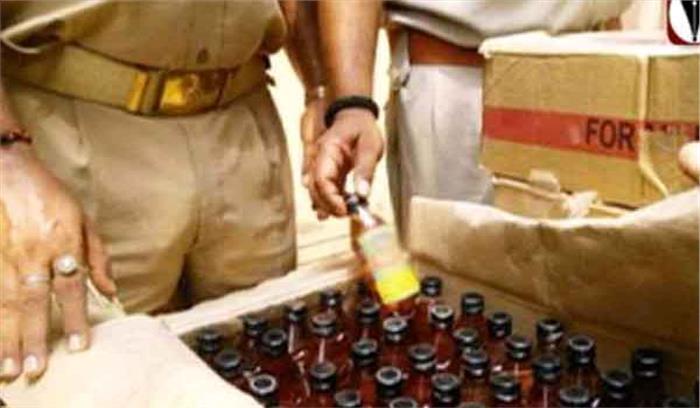 उप्र : 75 लीटर शराब समेत तस्कर गिरफ्तार