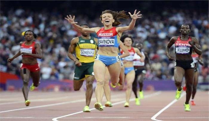 विश्व एथलेटिक्स:मारिया नेऊंची कूद स्पर्धा में स्वर्ण पदक अपने नाम किया