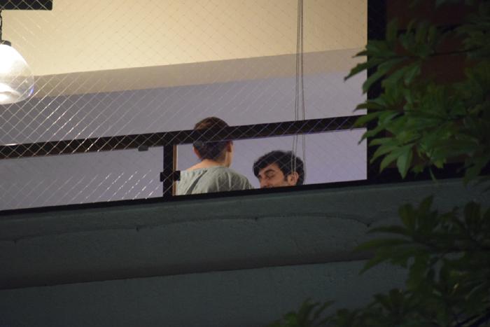 कैमरे में कैद हुई अलिया भट्ट और रणबीर कपूर की लेट-नाईट मीटिंग, फोटो हुए वायरल