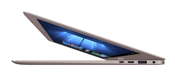 15% thinner than the already-slim ZenBook UX305UA, the lightweight ZenBook UX330 is ASUS' slimmest 13.3-inch display yet Comes with the signature ZenBook design inspired by the Swiss watch and a Japanese Zen garden