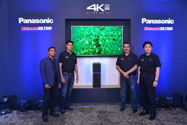 Bring Home 'Cinematic Experience' with Panasonic's new 4K Ultra HD TV and UA7 sound system