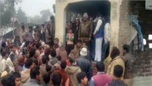 अमेठी में एक ही परिवार के 10 लोगों की हत्या कर मुखिया  जमालुद्दीन  ने लगायी फांसी