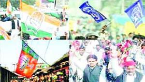 उत्तराखंड चुनाव  भाजपा-कांग्रेस के बाहुबली चुनावी 'अखाड़े' में आमने-सामने