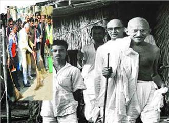 गांधीजी का पर्यावरण मंत्र :संयम, स्वावलंबन और सोनखाद