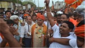जय श्री राम के उद्घोष का विरोध करने वाला कोई भी व्यक्ति इतिहास हो जाएगा