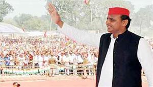 सपा की लोकप्रियता से घबरा कर मोदी ने उप्र में केन्द्रीय मंत्रियों की फौज उतारी  अखिलेश