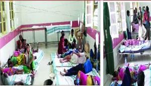 धार्मिक आयोजन में बंटा प्रसाद खाकर 48 बीमार