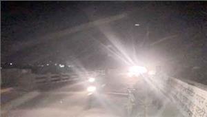 फ्लाई ओव्हर में 3 माह से बिजली नहीं अंधेरे में गुजरना लोगों की मजबूरी