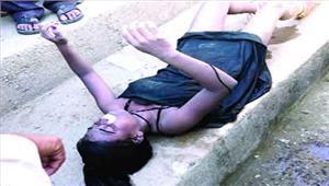 संदिग्ध हालत में मिली युवती की लाशहत्या की आशंका