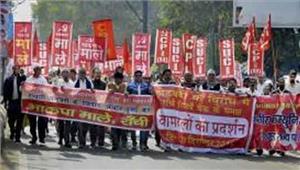 नोटबंदी के खिलाफ केरल में बनी 700 किलोमीटर लंबी मानव श्रृंखला